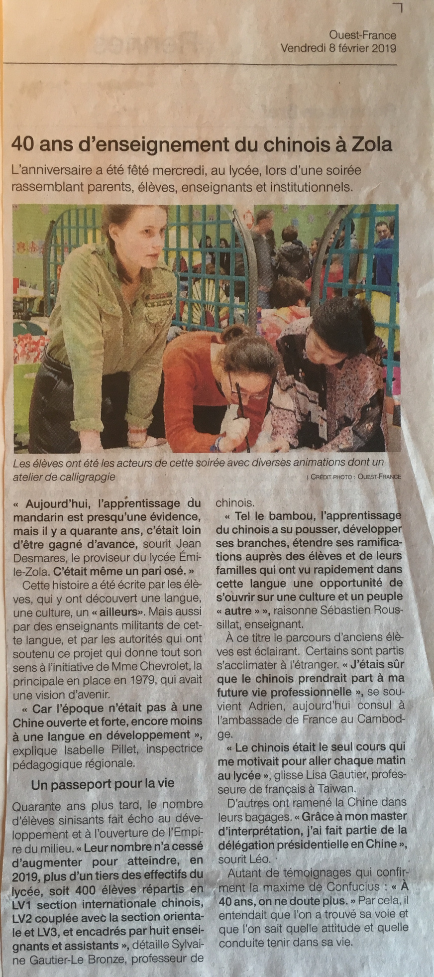 ARTICLE Ouest-France - JPEG - 2.6 Mo